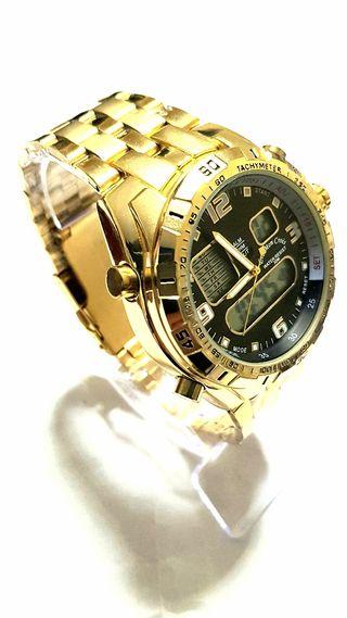 Reloj Hombre Grande Dual