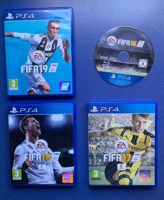 4 Juegos PS4 (FIFAS)