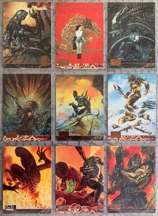 Aliens Vs Predator Trading Cards Topps