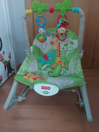 Hamaca Bebé fisher price monitos
