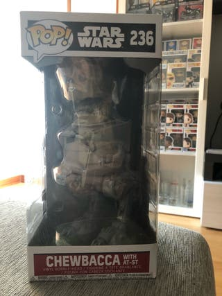 FUNKO POP, CHEWBACCA with AT-ST #236