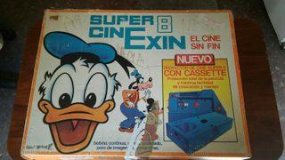 Proyector de Super 8 Cinexin el cine sin fin.