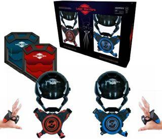 Laser Warriors. Juego combate por infrarrojos