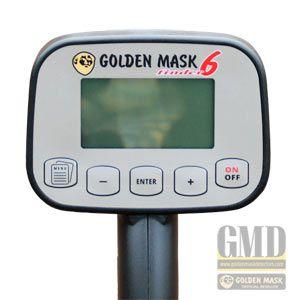 DETECTOR DE METALES GOLDEN MASK 6