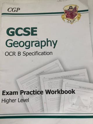 Gcse geography exam practice workbook