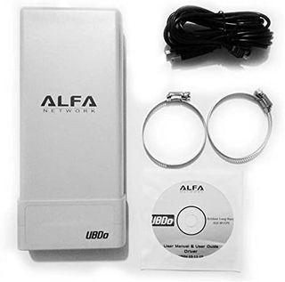 Alfa UBDO NT-8. Antena wifi de largo alcance