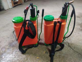 dos pulverizadores sirfran 10l semi nuevos