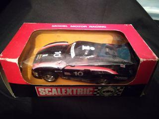 coche Scalextric antiguo Porsche