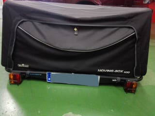 mochila remolque para coche