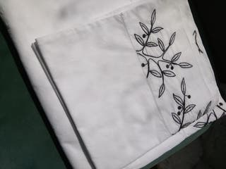 Sábana algodón y funda almohada