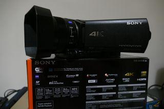 Videocamara Sony FDR AX 100 4K