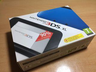 Nintendo 3DS XL Azul (Perfecto estado)