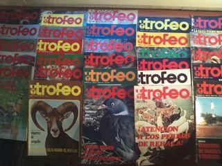 Lote revistas de caza Trofeo