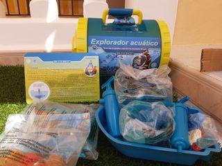 Explorador acuático con 10 divertidas actividades,