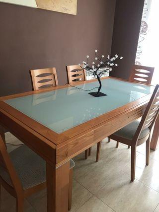 salón completo muebles, mesas y sillas