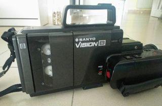 Video cámara para cintas de 8 mm
