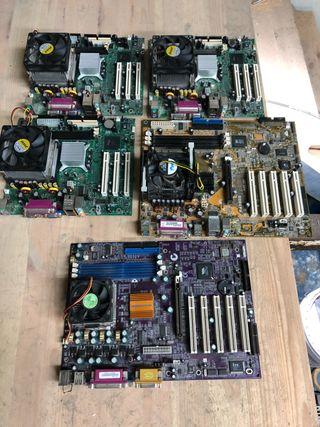 Lote placas base Intel Asus Elitegroup