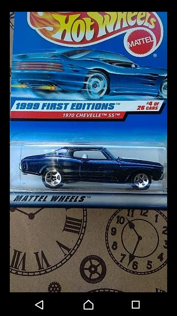 1970 Chevelle SS. 1999 First editions