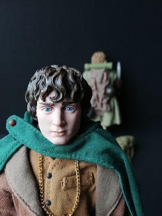 sideshow lotr Frodo Sam 1/6