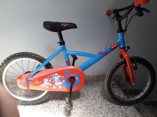 bicicleta 4-7anios