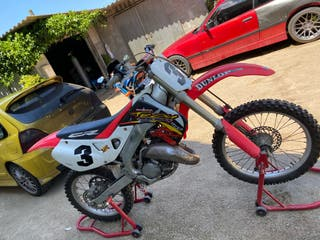 Honda cr 125 2t moto cross kit srs