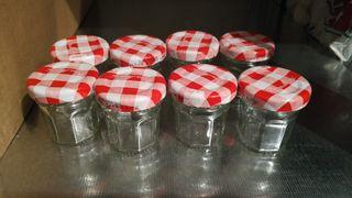 Tarros de cristal pequeños 5 cm