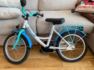 Bicicleta niño azul Vermont Blue 16