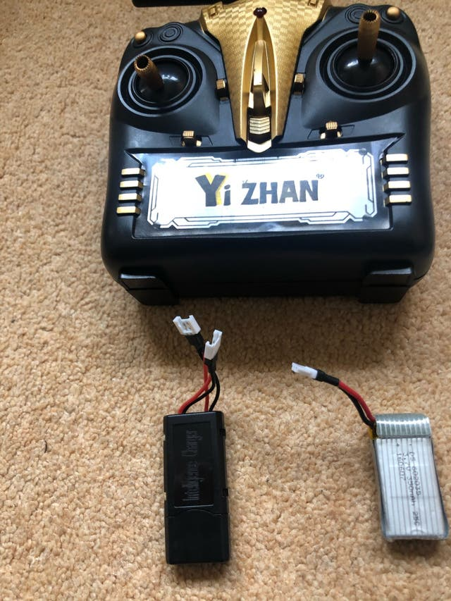 Yi Zhan X4 remote control and spare parts