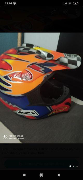 Casco moto talla XL