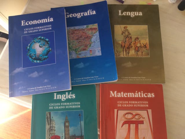 Libros Prueba De Acceso A Grado Superior Fp De Segunda