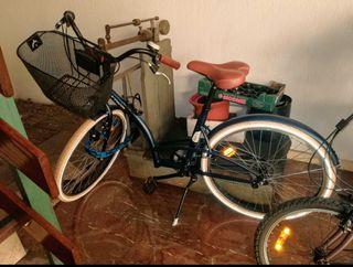 Bicicleta de paseo Btwin elops 320