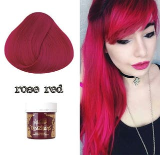 Tinte Cabello Semipermanente Pelo Rosa Fucsia Rojo
