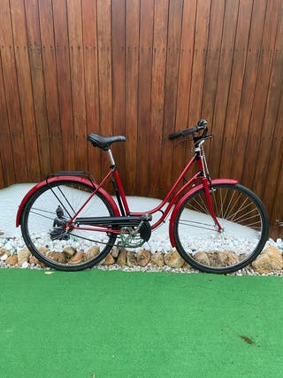 Bicicleta vintage de paseo antigua