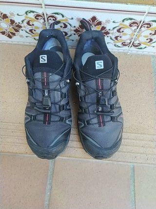 zapatillas Salomón mujer