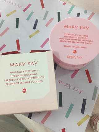 Parches de hidrogel para ojos Mary kay