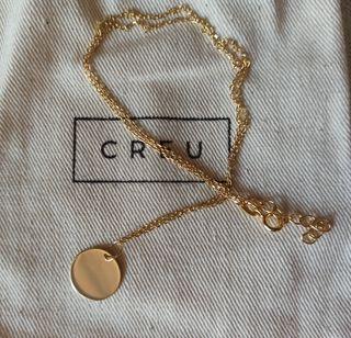 Collar Medalla en Plata de Ley 925 bañada en Oro