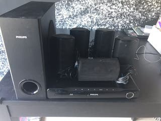 Home cinema 5.1 Philips blue ray