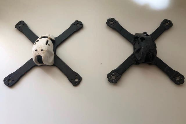 Dron carreras luminier fpv freestyle frame chasis