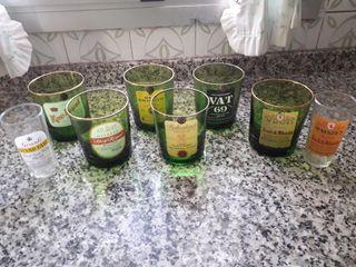 vasos de whisky antiguos