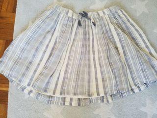 Falda niña talla talla 10
