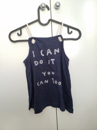 Camiseta Tirantes Marinera niña Talla 10