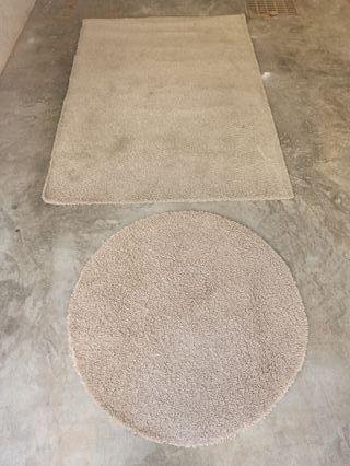 2 alfombras de Ikea
