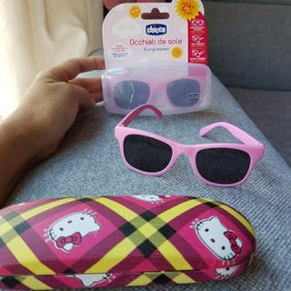 Gafas de sol chicco con funda hellos kity