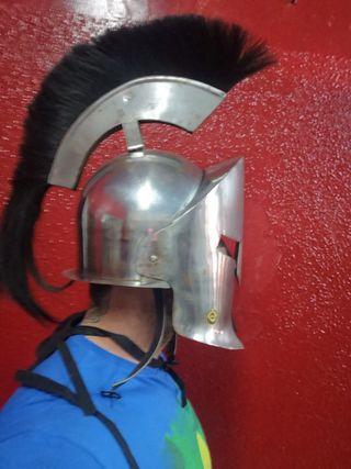casco de espartano 300, de metal