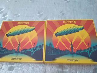 Led-Zeppelin 4cds y 2 dvds. - Celebration Day, 2
