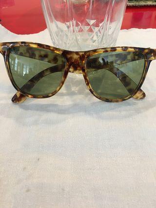 Gafas de sol cristal verde