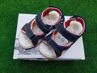 Sandalias de piel para niño Talla 25 marca Chicco