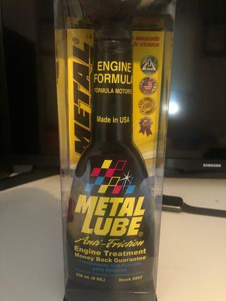 Metal lube engine treatment