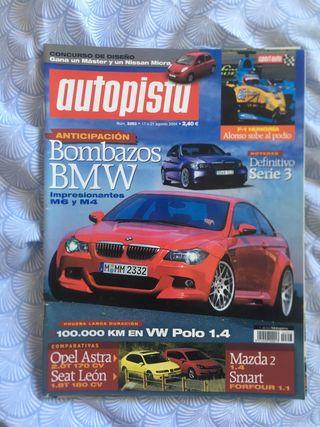 Revista autopista bmw m6 y m4 seat leon fr mk1