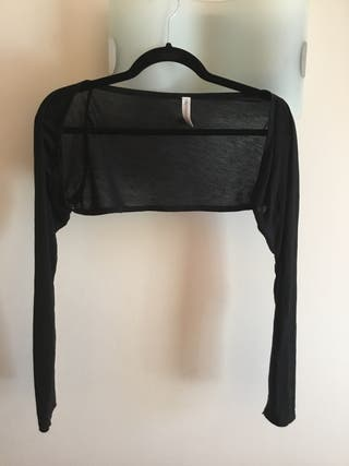 Bolero negro Trussardi talla L